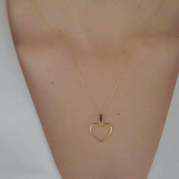 Colgante Gold Heart