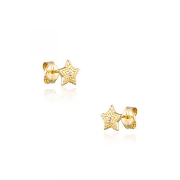 Mini Pendientes Estrella