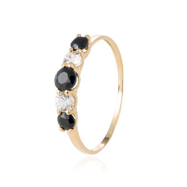 Anillo Black Sapphire